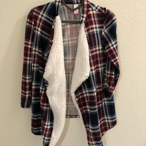 Other - Plaid cardigan